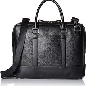 NWT Calvin Klein pebble leather imported bag